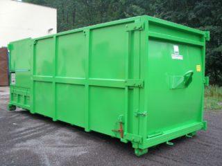 zelený lisovací kontejner LK-M-VS