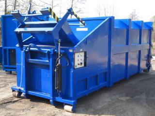 Vyklápěcí zařízení na lisovací kontejner LK-V, LK-M