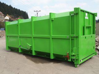 přípojný kontejner pk 30 zelený