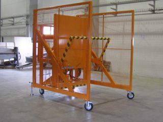 Vyklápěcí zařízení pojízdné VZP 222 a VZP 223
