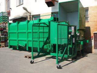 Vyklápěcí zařízení pojízdné VZP 222 a VZP 223 zelené
