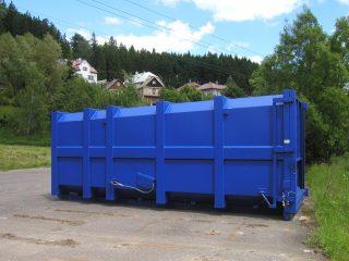 přípojný kontejner pk 30 tmavě modrý