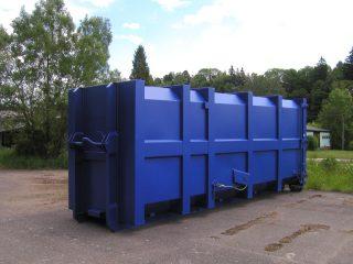 modrý přípojný kontejner pk 30