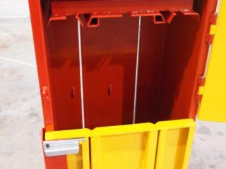 balíkovací lis L4-1 horní dveře