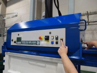balíkovací lis L30-1R ovládání