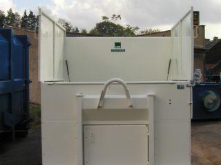 lisovací kontejner LK-V bílý