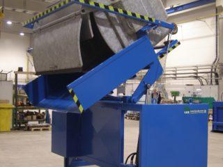 Vyklápěcí zařízení VZ 279 modré