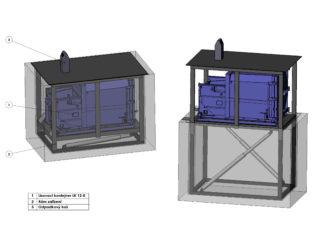 Podzemní lisovací konter