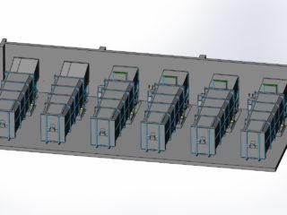 Stacionární jednotky vybavené čidlem automatického spuštění lisovacího cyklu