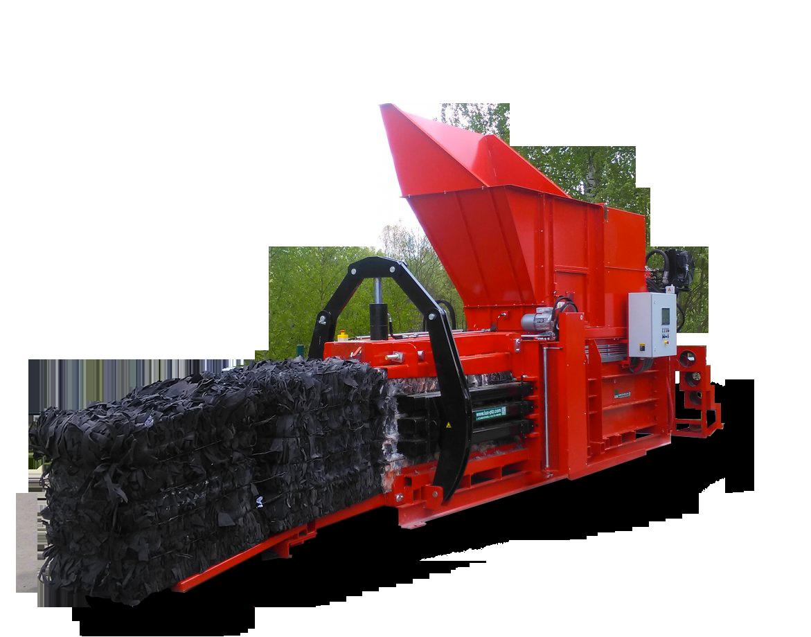 Horizontální lis HL 600-H-L