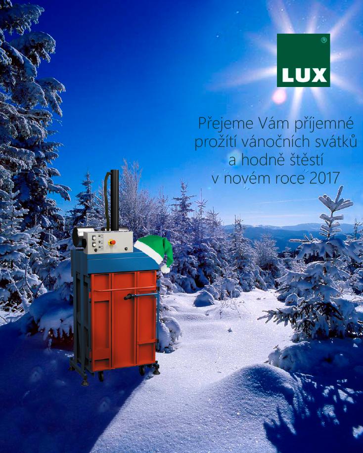 LUX-PTZ, s.r.o. PF 2017