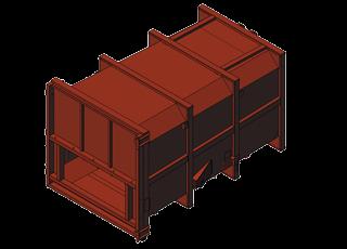 Přípojné kontejnery ke stacionárním lisům