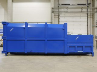 lisovací kontejner LK-V modrý