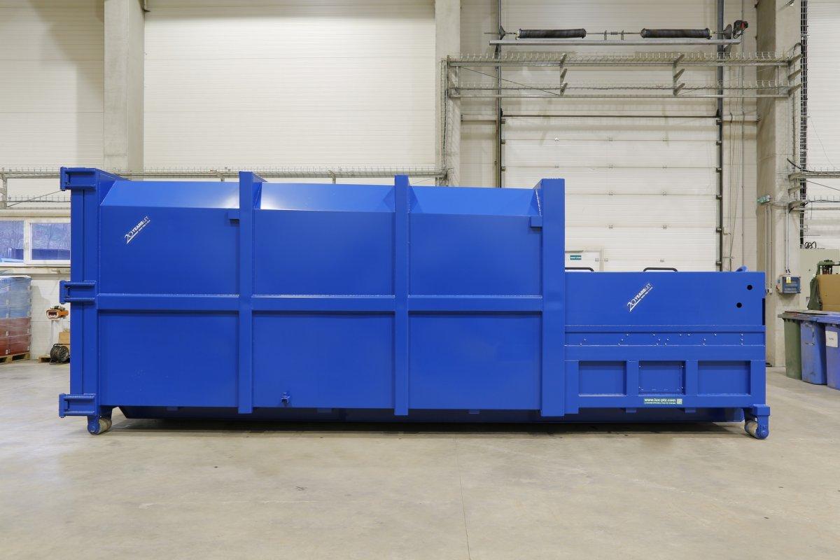 Container press V line