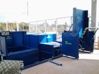 Vyklápěcí zařízení posuvné VZP 305 modré